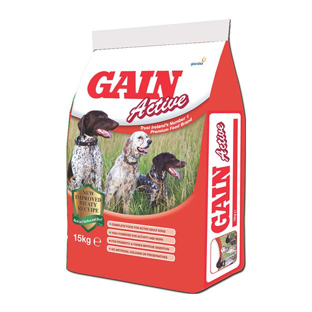 Gain Active 15kg Precious Pets Cavan