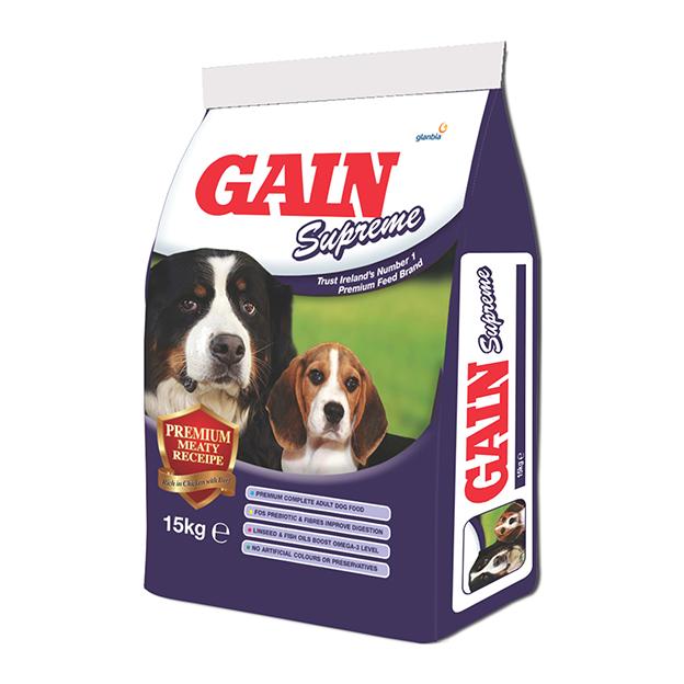 Gain Supreme 15kg Precious Pets Cavan
