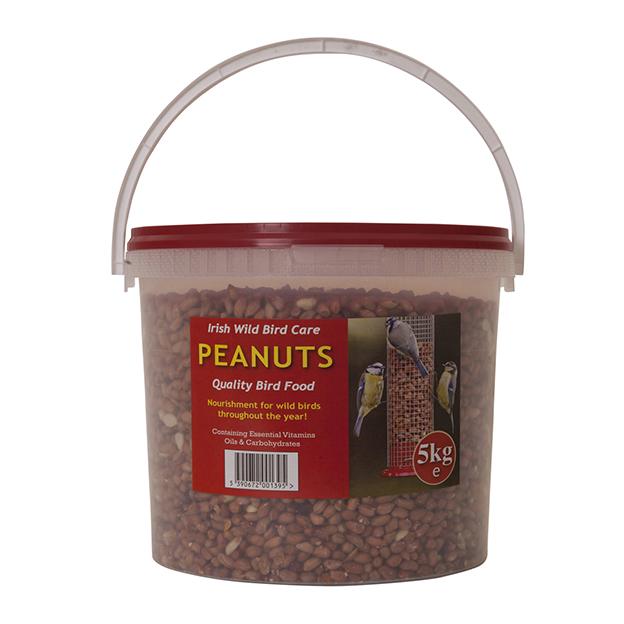 Wild Bird Peanuts 25kg & 5kg Buckets Precious Pets Cavan