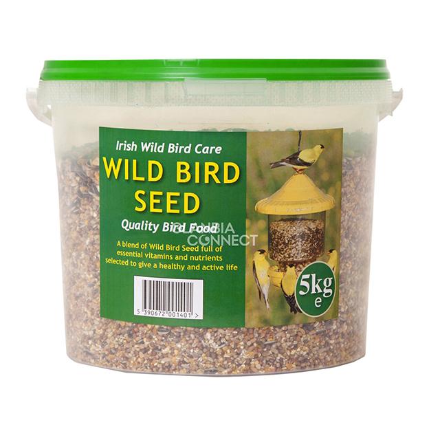 Wild Bird Seed 25kg and 5kg Buckets Precious Pets Cavan